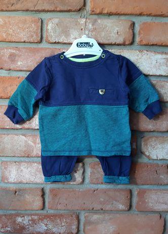 Dres niemowlęcy chłopiecy roz. 62 Cool Club Granatowo-turkusowy