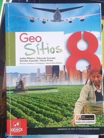 Geo Sítios 8+ Geo essencial (CAtividades) [COMO NOVOS]