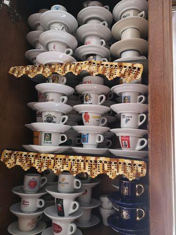 Chavenas de café coleção