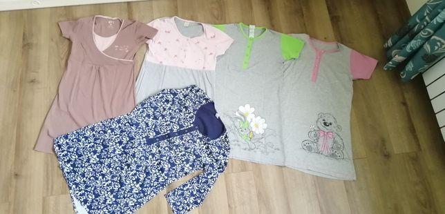 Koszula ciążowa do karmienia do piżama do spania 40