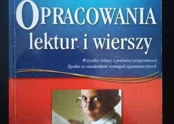 Opracowanie lektur i wierszy gimnazjum