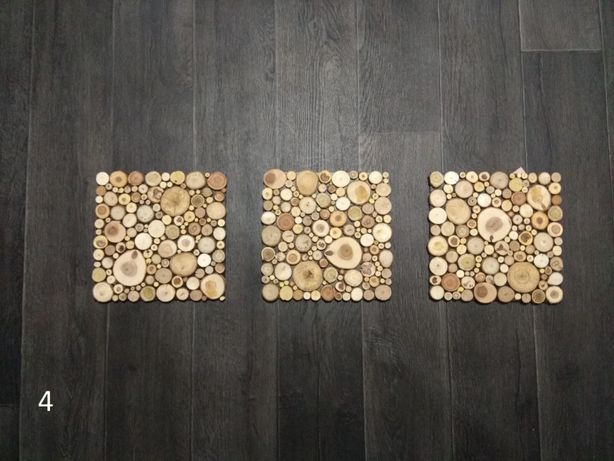 Комлект панно з дерева, еко стиль, дизайн, ручна робота | woodlikelove