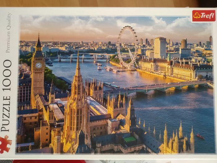 Puzzle 1000 Londyn , kompletne Mysłowice - image 1