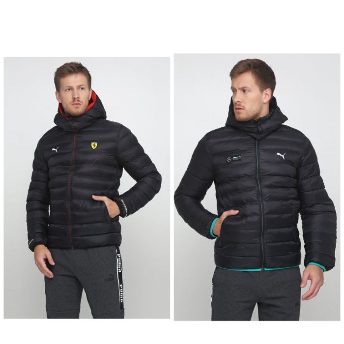 Мужская Куртка Puma MAPM SF Mercedes Ferrari Eco PackLIite Jacket Киев - изображение 1