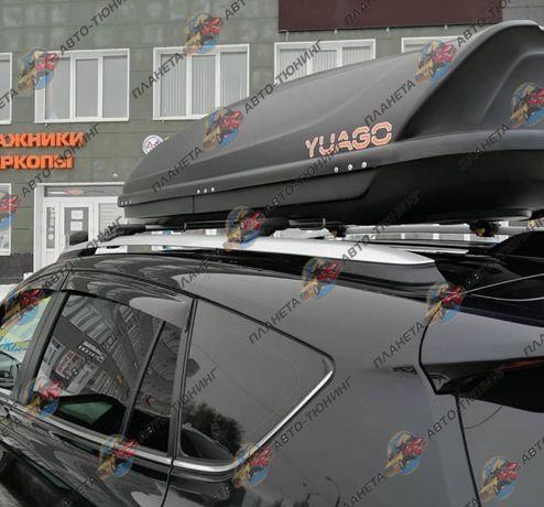 Перемычки поперечины для Toyota RAV-4 2006-2019 на рейлинги
