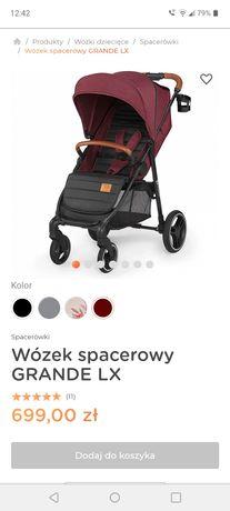 Nowa Spacerówka kinderkraft grande lx