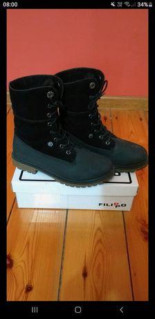 Buty zimowe r 37 jak Nowe wysyłka 5zł