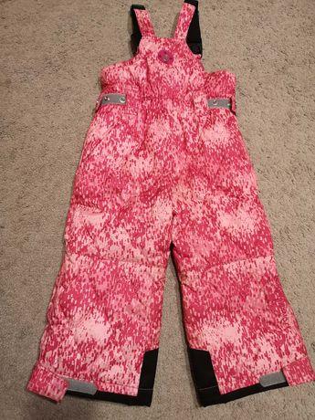 Spodnie zimowe, narciarskie, różowe, rozmiar 92/98, Poivre Blanc
