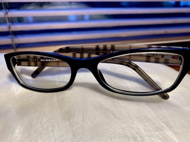 BURBERRY-  ORYGINALNE okulary/ oprawki okularowe + etui Burberry