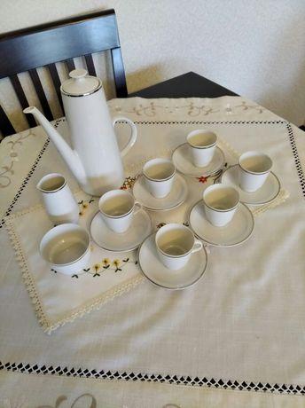 Zestaw kawowy - porcelana Freiberger