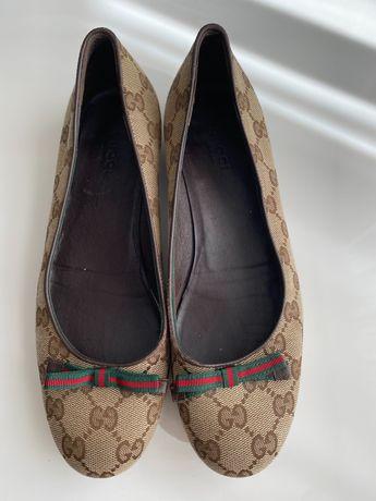 Балетки от Gucci , размер 36,5 оригинал