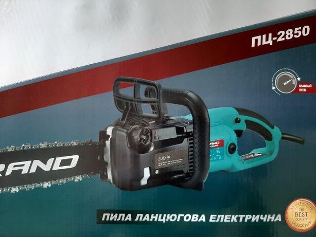 Электропила GRAND ПЦ-2850 плавный пуск. Чехия.