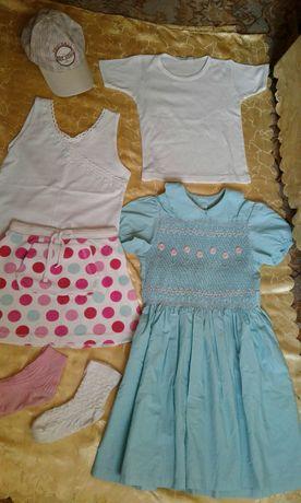 Детские вещи пакетом, Детская одежда на возраст 5-6-7лет, девочка!