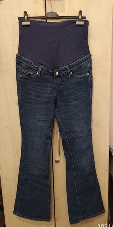 Spodnie ciążowe H&M 42, dzwony, nowe