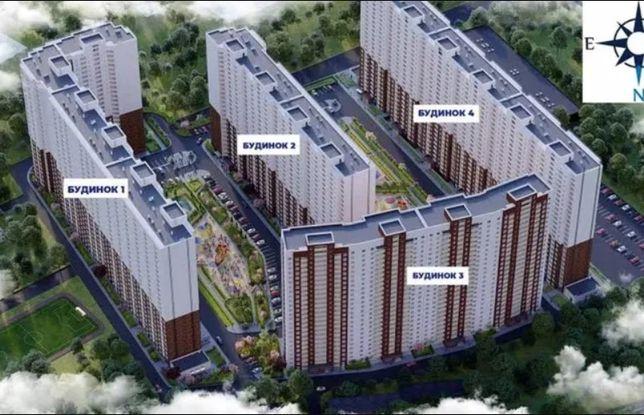 Новая 2-к квартира в ЖК Навигатор, Кухня 18 квадратов, Дом сдан.