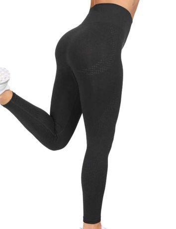 Nowe legginsy sportowe rozmiar S