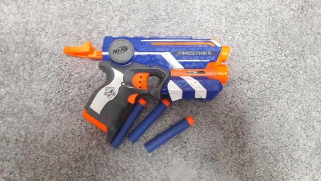 Oryginalne 2 pistolety NERF Hasbro w idealnym stanie MIKOŁAJKI