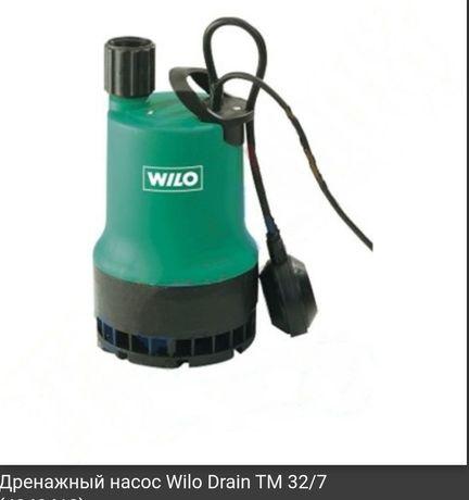 Дренажный насос Wilo Drain TM 32