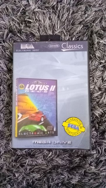 Jogo Mega Drive Lotus II