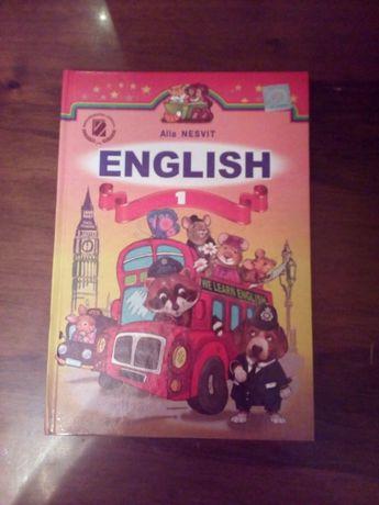 Англійська мова 1клас