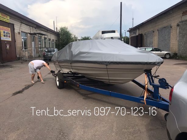 Тент стояночный на лодки,катера,квадроциклы,прицеп,водный скутер