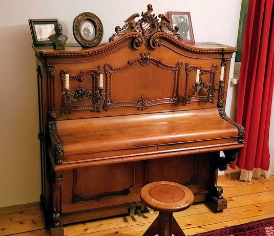 Pianino Gustav Rösler 1895