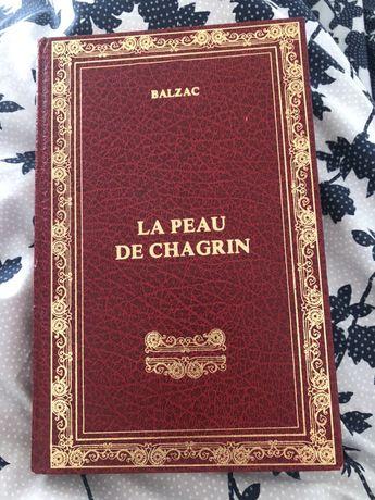 Balzac la peau de chagrin 1983 książka francuskojęzyczna jaszczur