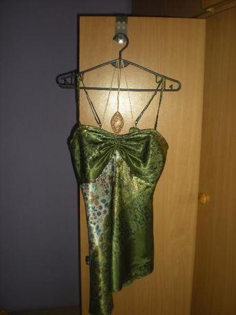 Elegancka asymetryczna tunika, rozmiar 44