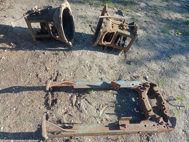 Продам запчасти трактора т-40 Лонжероны и брус рамы