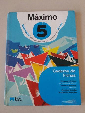 Máximo 5 - Matemática 5° Ano - Caderno de Atividades