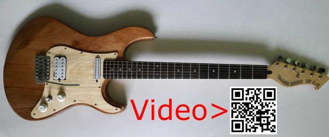 Gitara elektryczna custom zmodyfikowana Yamaha EG112U Strat