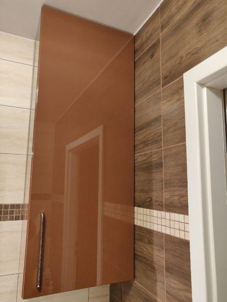 Szafka wisząca łazienkowa nowoczesna wysoki połysk 123x47,5cm