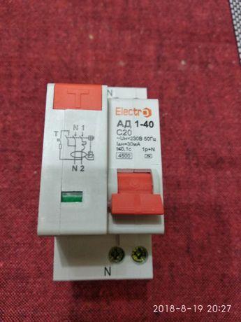 Electro выключатель АД 1-40 С20, С25