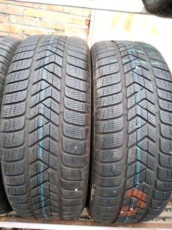 225 235/55 r18 Pirelli scorpion/sottozero3 Dunlop зима б/у шины
