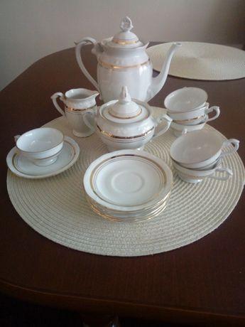 Serwis kawowy porcelana Chodzież