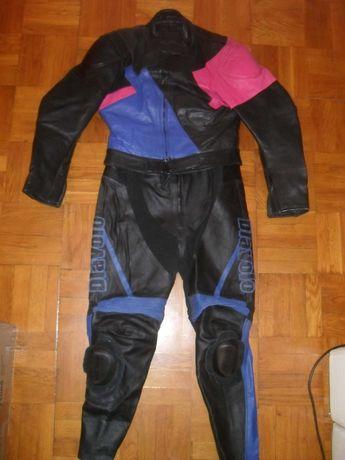 Мотокостюм кожаный женский DIAVOLO ( Германия ) , размер 42 ( M-L )