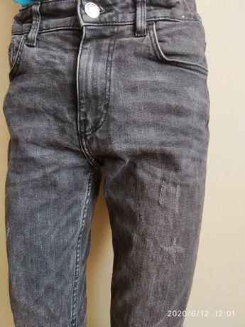 Spodnie jeansy H&M 146