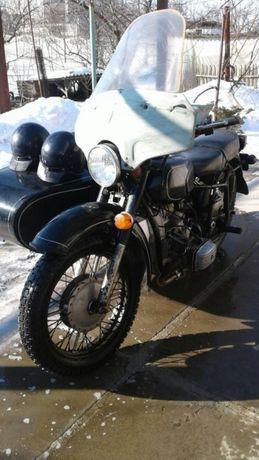 Мотоцикл МТ Днепр -11 двигатель после кап ремонта,состояние-нового.