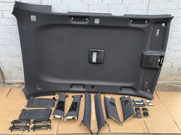 Черный потолок BMW X5 E53 чорний БМВ Х5 Е53 Ручка Плафон Разборка