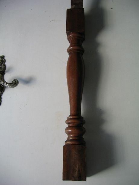 9 Postes de balauste em madeira