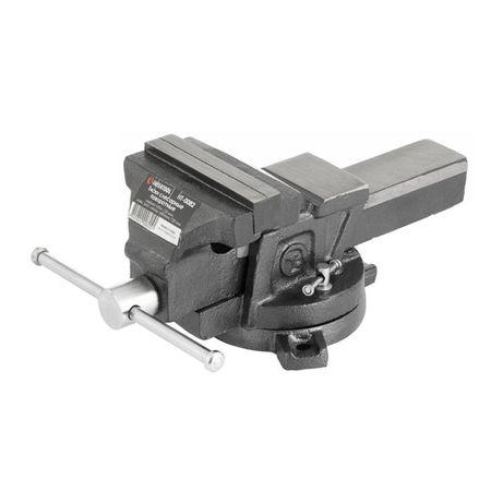 Тиски слесарные поворотные 125 мм INTERTOOL HT-0082