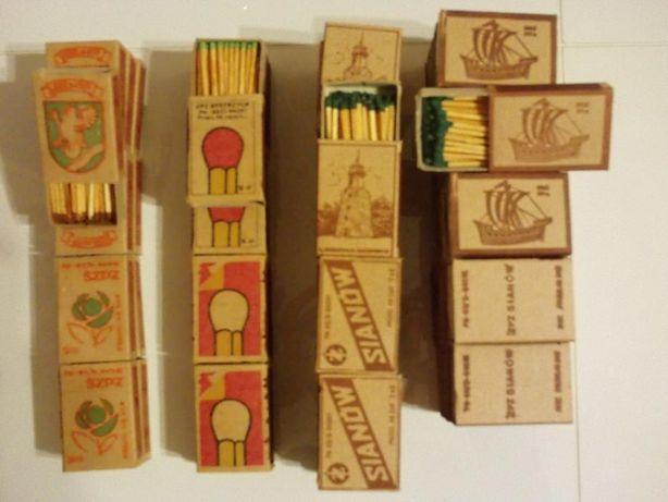 kolekcjonerskie pudełka zapałek z lat 60-80-tych XX w