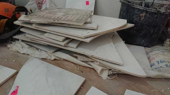 Бой керамической плитки Asaro Blanco