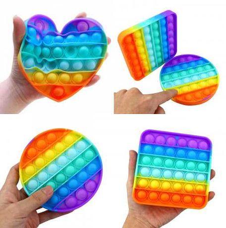 Антистресс поп ит Пуш ап пузырь Pop it игрушка для взрослых и детей