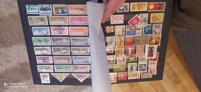 Sprzedam kolekcję znaczków pocztowych unikaty duży zbiór