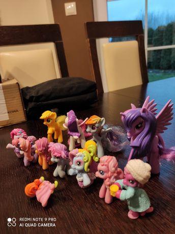 Bardzo ładne kucyki pony