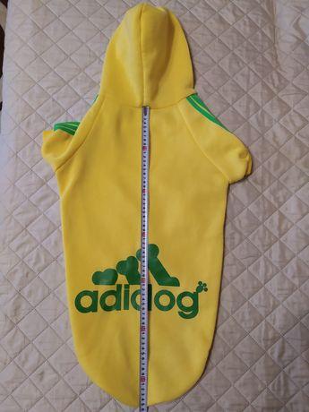Теплая флисовая кофта для средней собаки от ADIDOG 7X /