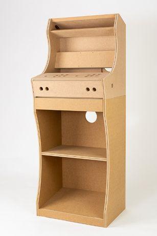 Estrutura Arcade Bartop + Pedestal – DIY