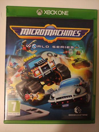 Micromachines world séries Xbox One