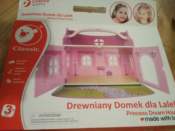 Domek dla lalek drewniany classic world